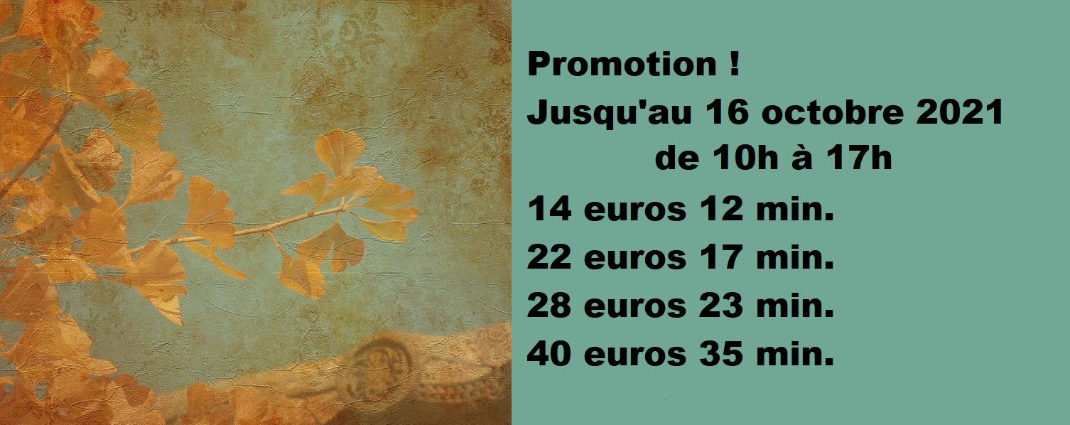 Promotion semaine
